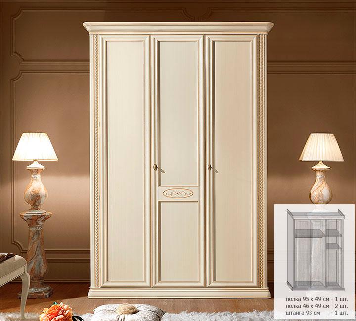 Спальня siena avorio / мебель оптом от производителя. прямые.