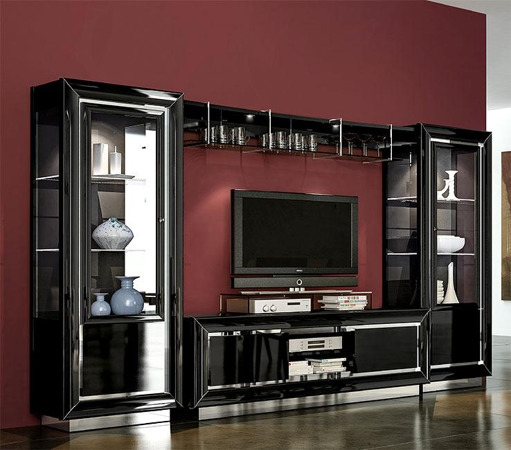 гостиная La Star Black мебель оптом от производителя прямые