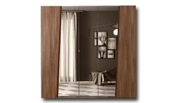 спальня storm: Шкаф 5-дв. c зеркалами