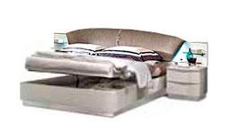 спальня onda white: Кровать 160x200 арт.38