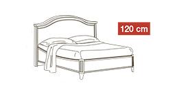 спальня nostalgia: Кровать 120x200 арт.27