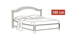 спальня nostalgia: Кровать 180x200 арт.10