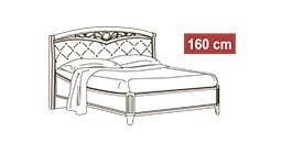 спальня nostalgia: Кровать 160x200 арт.42
