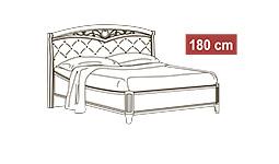 спальня nostalgia: Кровать 180x200 арт.44