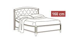 спальня nostalgia: Кровать 160x200 арт.38