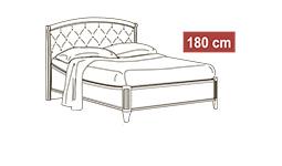 спальня nostalgia: Кровать 180x200 арт.40
